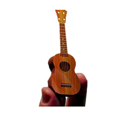 Quebra-Cabeças 3D Maquetes de Papel Artesanato de Papel Brinquedos de Montar Instrumentos Musicais Guitarra Faça Você Mesmo Clássico