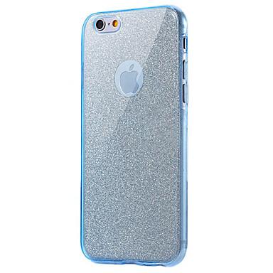 Käyttötarkoitus iPhone 8 iPhone 8 Plus kotelot kuoret Iskunkestävä Kokonaan peittävä Etui Kimmeltävä Pehmeä TPU varten Apple iPhone 8