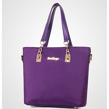 Women Bags All Seasons PU Tote for Casual Outdoor Amethyst