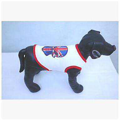 Koira Takit College Koiran vaatteet Pääkallot Musta Punainen Puuvilla Asu Lemmikit Miesten Naisten Rento/arki Cosplay