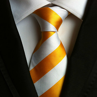 Men's Neckwear Stripes Necktie - Striped