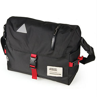Men Bags All Seasons PU Shoulder Bag for Casual Outdoor Black