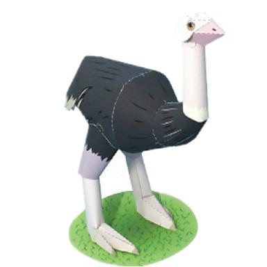 Quebra-Cabeças 3D Maquetes de Papel Artesanato de Papel Brinquedos de Montar Pássaro Animais Simulação Faça Você Mesmo Clássico Crianças