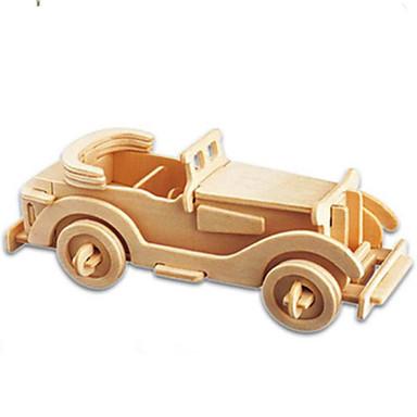 3D Puzzle Jigsaw Puzzle Car Simulation DIY Wood Classic Kid's Unisex Gift
