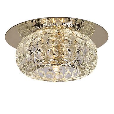 LightMyself™ Modern / Zeitgenössisch Unterputz Raumbeleuchtung - Kristall Ministil, 110-120V 220-240V Inklusive Glühbirne