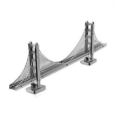 3D-puslespill Metallpuslespill Modellsett Nyhet Aluminium Metall Herre Gave