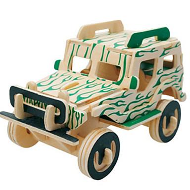 3D - Puzzle Holzpuzzle Holzmodelle Flugzeug Auto Berühmte Gebäude Heimwerken Holz Klassisch Unisex Geschenk