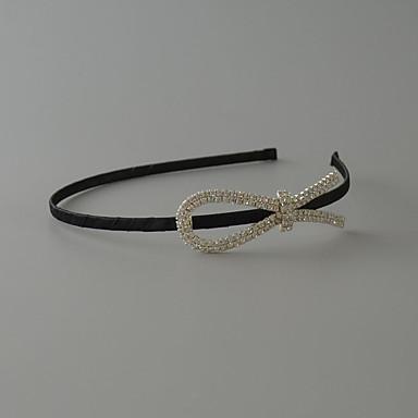 Aço Inoxidável / Strass / Poliéster Headbands com 1 Casamento / Ocasião Especial / Aniversário Capacete