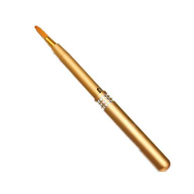 1pcs Pincéis de maquiagem Profissional Pincel para Lábios Fibra Sintética Portátil / Viagem / Amiga-do-Ambiente Metal Pincel Pequeno