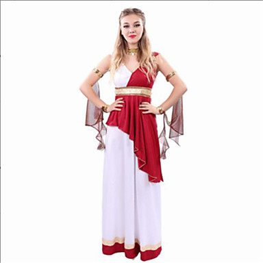Goddess Roman Costumes Cosplay Cosplay Costumes Party Costume Festival/Holiday Halloween Costumes Halloween Carnival Others Vintage