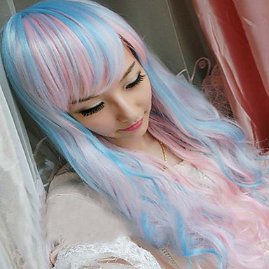 Synthetic Wig Wavy Women's Capless Cosplay Wig Long Synthetic Hair