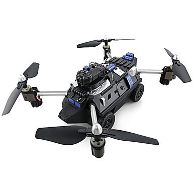 RC Drone JJRC H40WH 2.4G Com Câmera HD 720P Quadcópero com CR Retorno Com 1 Botão Modo Espelho Inteligente Vôo Invertido 360° Quadcóptero