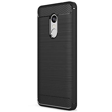 Case For Xiaomi Frosted Back Cover Solid Colored Soft Carbon Fiber for Xiaomi Redmi Note 4X / Xiaomi Redmi Note 4