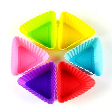 Moldes de bolos 3D Uso Diário Silicone Ferramenta baking