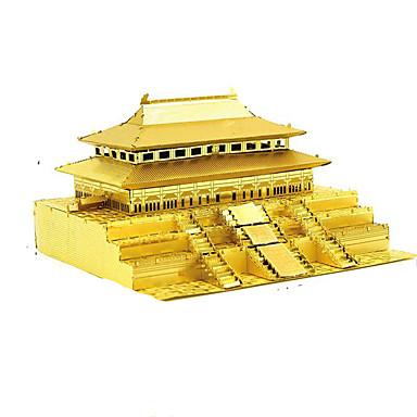 3D-puslespill Metallpuslespill Modellsett Kjent bygning Arkitektur Møbler artikler GDS Chrome Klassisk Unisex Gave
