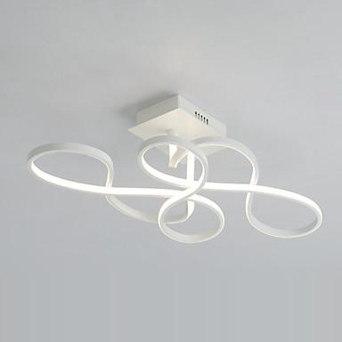 UMEI™ Montagem do Fluxo Luz Ambiente - Lâmpada Incluída, Moderno / Contemporâneo, 220-240V 100-120V, Branco Quente Branco, Lâmpada