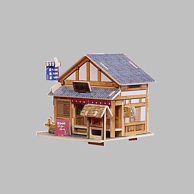 Robotime 3D Puzzle Jigsaw Puzzle Wood Model Model Building Kit DIY Wood Classic Kid's Gift