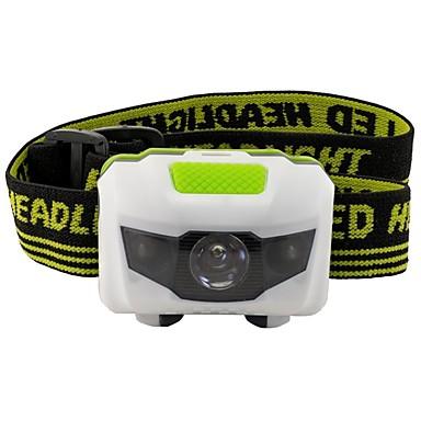 billige Lommelykter & campinglykter-Hodelykter LED LED emittere 500 lm 3 lys tilstand Alarm LED Lys Lett å bære Camping / Vandring / Grotte Udforskning Dagligdags Brug Sykling