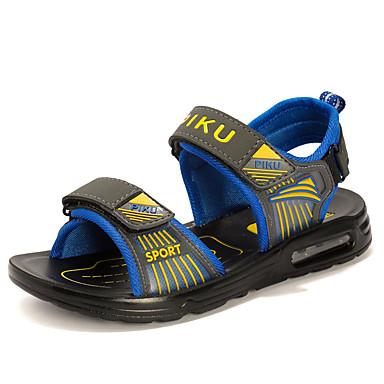 Boys' Air Cushion Sandals Slingback Gladiator Comfort Light Soles PU Spring Summer Casual Outdoor Office & CareerSlingback Gladiator Comfort Light