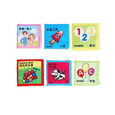 Pedagogiset kortit Luettava lelu Lelut Neliö Kangas Lasten Pieces