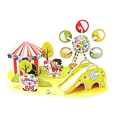 voordelige 3D-puzzels-3D-puzzels Legpuzzel Modelbouwsets Beroemd gebouw Speelplaats DHZ Hard Kaart Paper Klassiek Anime Cartoon Kinderen Unisex Speeltjes Geschenk