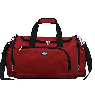 Men Tote Oxford Cloth Polyester All Seasons Casual Outdoor Rectangle Zipper Black Red Azure