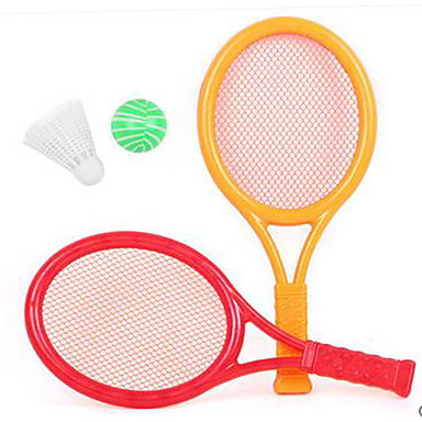 Balls Racquet Sport Toy Simple Plastics Feather Kid's Gift
