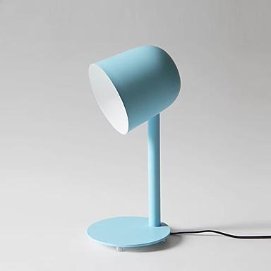 Metálico Estilo Moderno Moderno/Contemporâneo Para Crianças Proteção para os Olhos Luminoso Decorativa Luminária de Mesa Para Metal