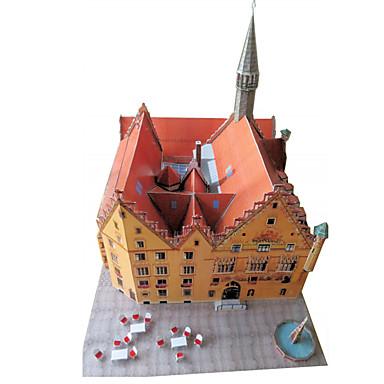 3D-puslespill Papirmodell Papirkunst Modellsett Kjent bygning GDS Klassisk Unisex Gave
