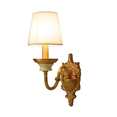 Tiffany Enkel Traditionel / Klassisk Land Vegglamper Til Metall Vegglampe 110-120V 220-240V