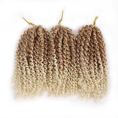 Braiding Hair Curly / Bouncy Curl / Crochet Pre-loop Crochet Braids / Hair Accessory / Human Hair Extensions Toyokalon Hair / Kanekalon 60 roots / pack Hair Braids Daily