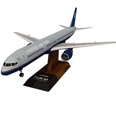 Quebra-Cabeças 3D Artesanato de Papel Aeronave Faça Você Mesmo Cartão de Papel Duro Crianças Para Meninos Unisexo Dom