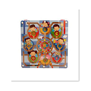 Labirinto Labirintos Magnéticos Brinquedos Avião Magnética Madeira Ferro Para Meninas Crianças Dom 1pcs
