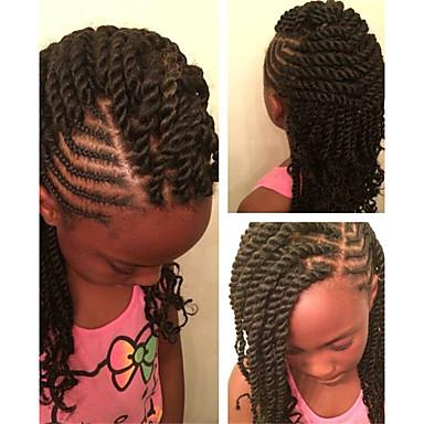 Curly Synthetic Hair 1pc/pack Human Hair Extensions Hair Accessory Pre-loop Crochet Braids Hair Braids Daily