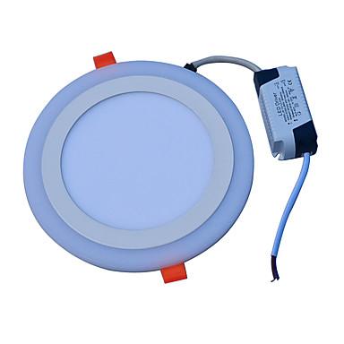 JIAWEN 18 W 90 LED Dekoratív Panel izzók Hideg fehér Kék AC85-265