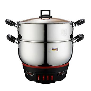 Kjøkken Rustfritt Stål 220V Multi-Purpose Pot mat Steamers