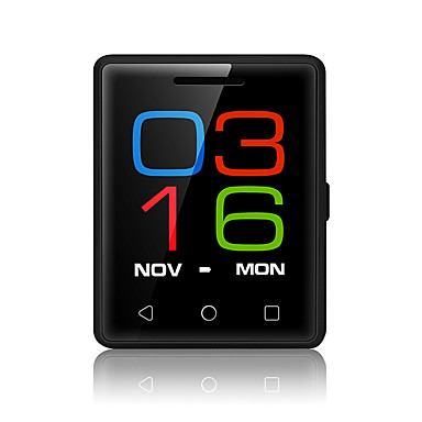 YY S8 Men's Woman  MTK2502 1.54 2.5D Touch Screen Bluetooth 4.0 380mAh Pocket Smartwatch Also like Mini Phone Mobile Phone  for Ios Android