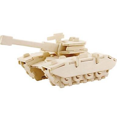 Robotime 3D építőjátékok Fejtörő Wood Model Tank Oroszlán DIY Fa Gyermek Uniszex Ajándék