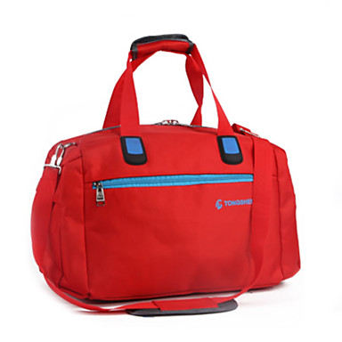 Women Bags All Seasons Oxford Cloth Travel Bag for Casual Sports Outdoor Blue Red Fuchsia