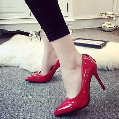 Polyuréthane Marche Aiguille à Gris Chaussures Talons Nouveauté Bout Femme Confort Chaussures pointu Talon Eté Synthétique 05991421 Automne 8nZHHwE7vq