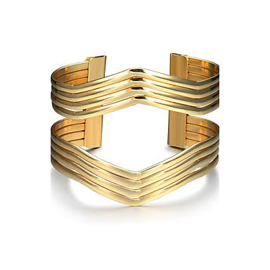 Women's Cuff Bracelet Fashion Punk Alloy Geometric Jewelry Christmas Gifts Birthday Gift Valentine Costume Jewelry