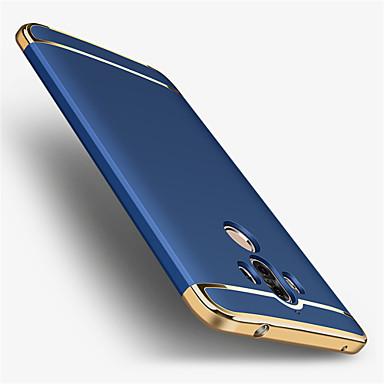Case Kompatibilitás Huawei Galvanizálás Fekete tok Tömör szín Kemény PC mert Mate 9 Mate 9 Pro Huawei