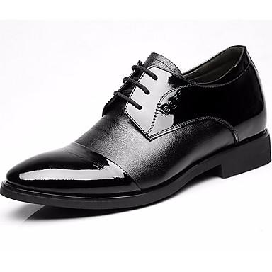 Herre sko Lær Vår Høst formell Sko Oxfords til Svart
