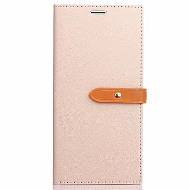 Capinha Para Samsung Galaxy S8 Plus S8 Porta-Cartão Com Suporte Flip Capa Proteção Completa Côr Sólida Rígida PU Leather para S8 Plus S8