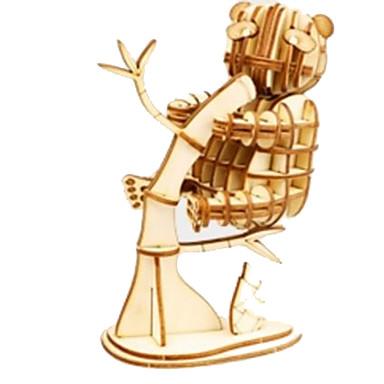 Robotime 3D - Puzzle Holzpuzzle Holzmodelle Pferd Tiere Heimwerken Holz Naturholz Kinder Unisex Geschenk