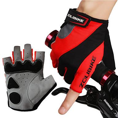 Luvas Esportivas Luvas de Ciclismo Vestível / Respirável / Protecção Sem Dedo Licra Ciclismo / Moto Unisexo
