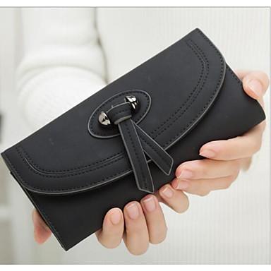 Women Coin Purse PU All Seasons Rectangle Zipper Blue White Black