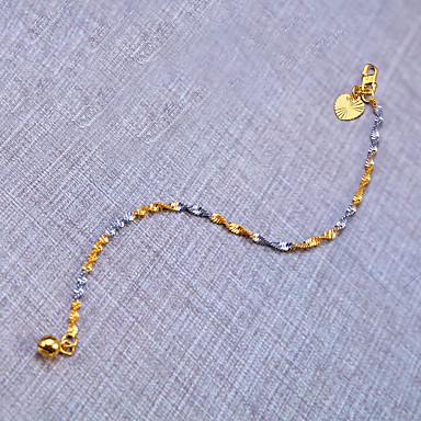 Men's Women's Chain Bracelet Tattoo Style Natural Hip-Hop Fashion Copper Round Line Irregular Jewelry Birthday Office / Career Dailywear