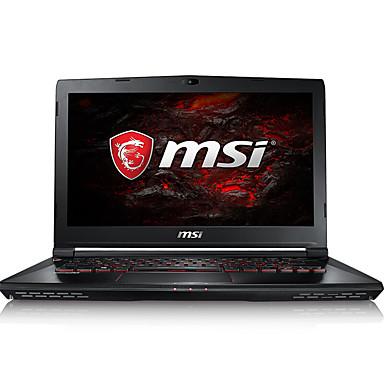 MSI Kannettava 14 tuumainen Intel i7 Neliydin 8Gt RAM 1TB 128GB SSD kiintolevy Windows 10 GTX1060 6GB