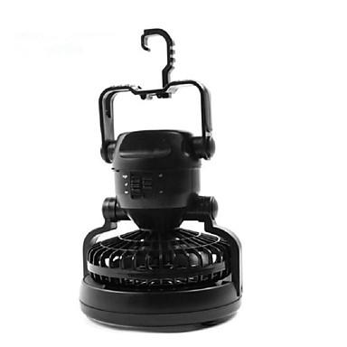 abordables Lampes & Lanternes de Camping-Lanternes & Lampes de tente LED Émetteurs Manuel Mode d'Eclairage Conception spéciale Ventilateur Lampes ambiantes Camping / Randonnée / Spéléologie Chasse